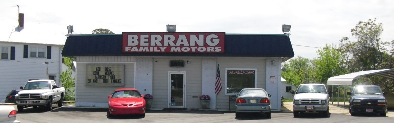 Berrang Family Motors Quality Pre Owned Used Automobiles
